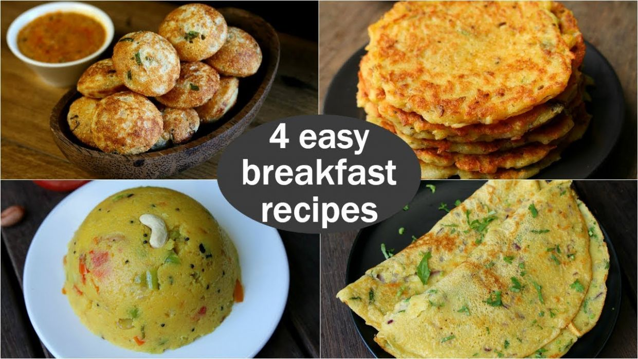 12 easy veg breakfast recipes | quick & healthy breakfast ideas | high  protein breakfast - Breakfast Recipes Video