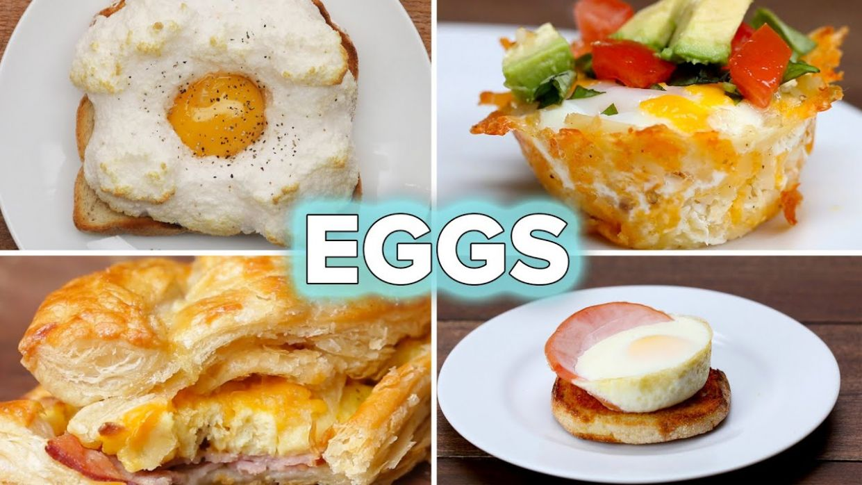 12 Egg Recipes For Breakfast Lovers • Tasty - Breakfast Recipes You Could Make With Eggs