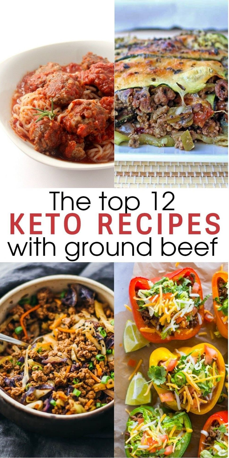 12 Flavorful and Easy Keto Recipes With Ground Beef To Try for ..