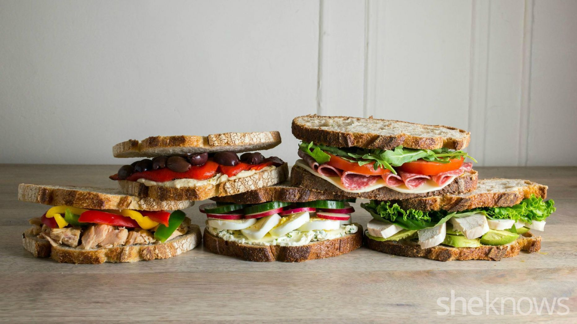 12 Gourmet work lunch sandwiches you can make in 12 minutes or less ..