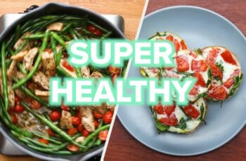 12 Healthy And Low Carb Recipes • Tasty