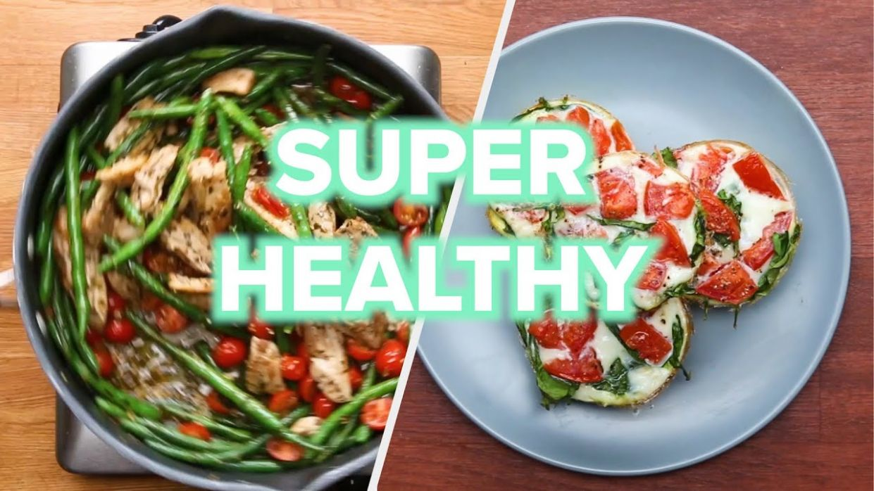 12 Healthy And Low Carb Recipes • Tasty - Healthy Recipes Tasty