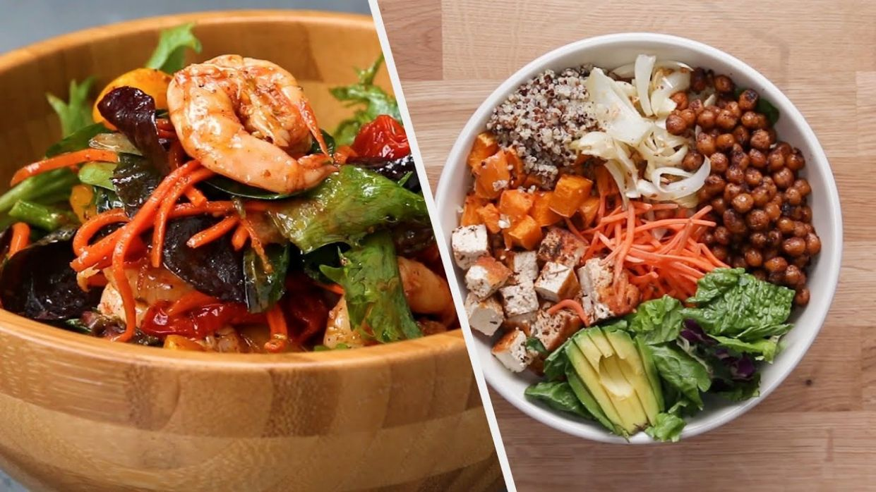 12 Healthy Meal Recipes for the New Year • Tasty - Healthy Recipes Yummy