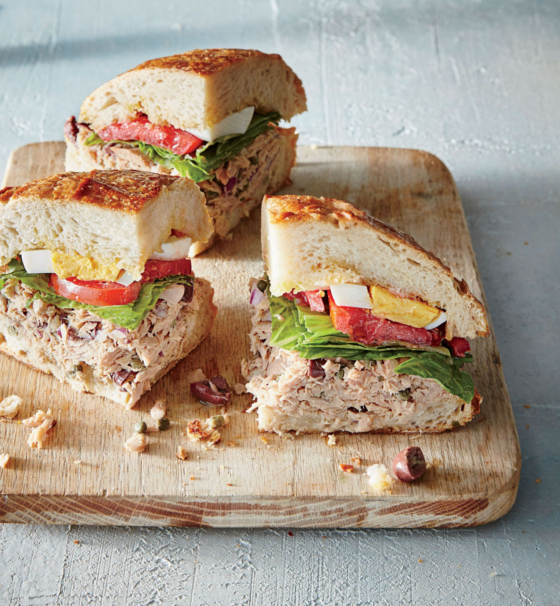 12 Healthy No Cook Lunch Ideas   Cooking Light - Sandwich Recipes To Take To Work