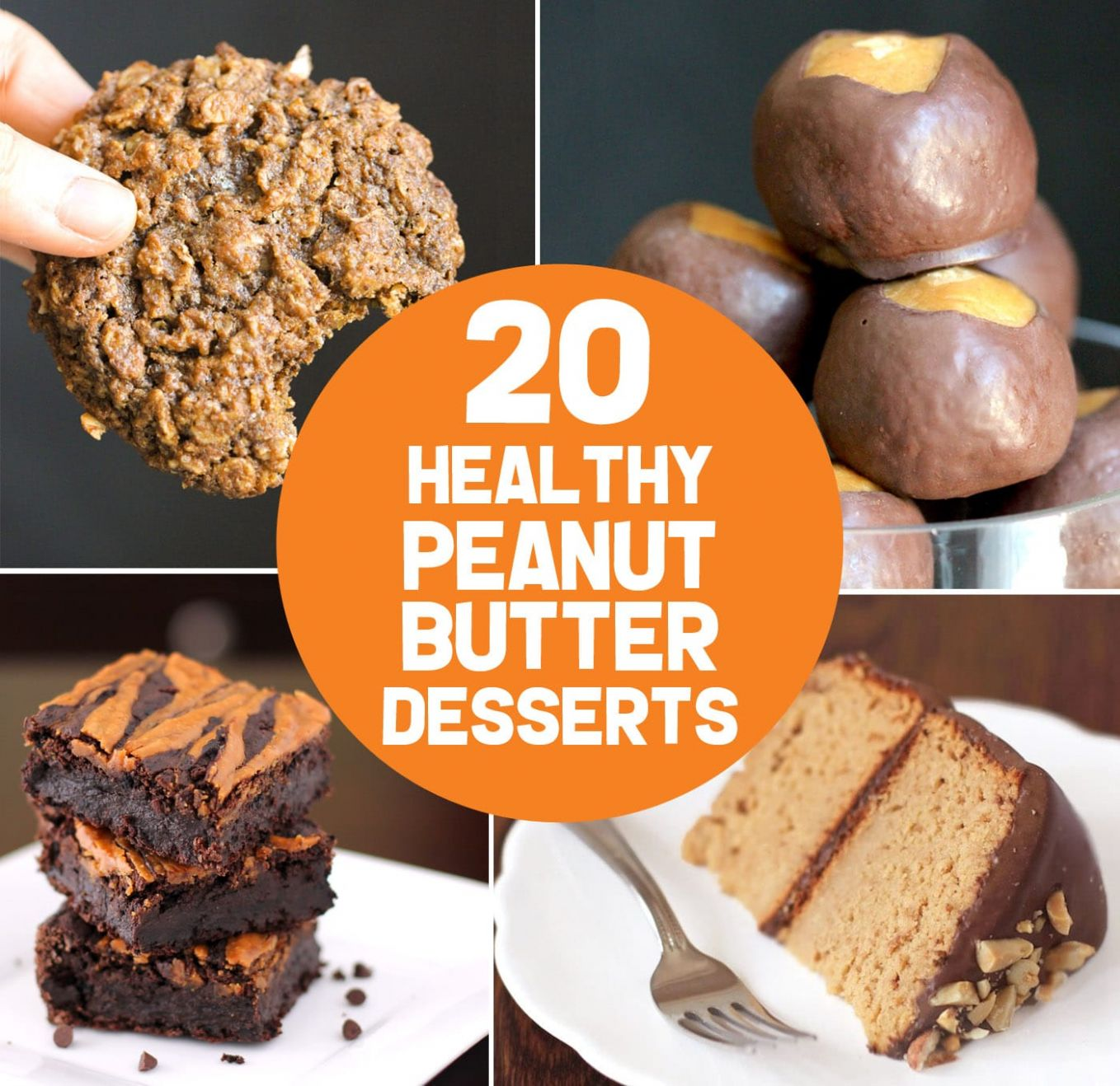 12 Healthy Peanut Butter Dessert Recipes | gluten free, vegan, low ..