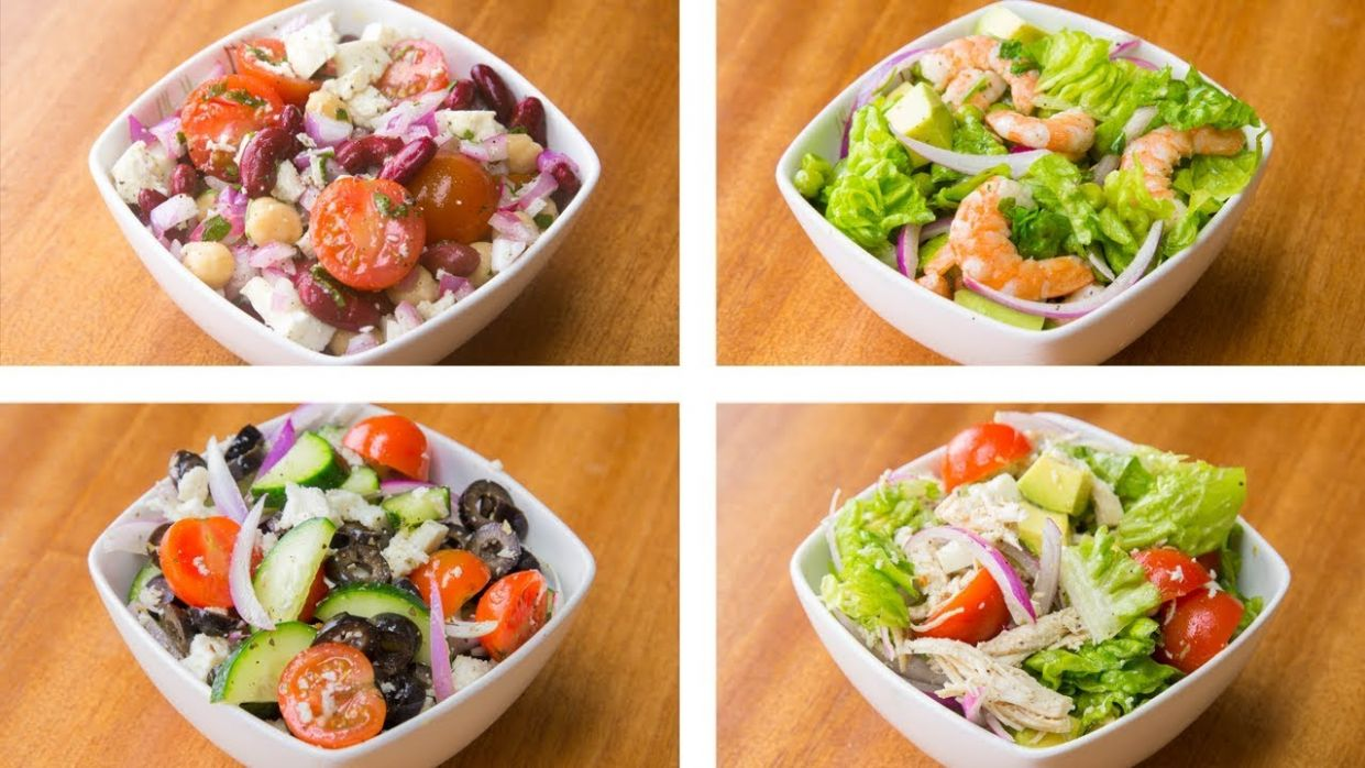 12 Healthy Salad Recipes For Weight Loss   Easy Salad Recipes - Recipes For Weight Loss Easy