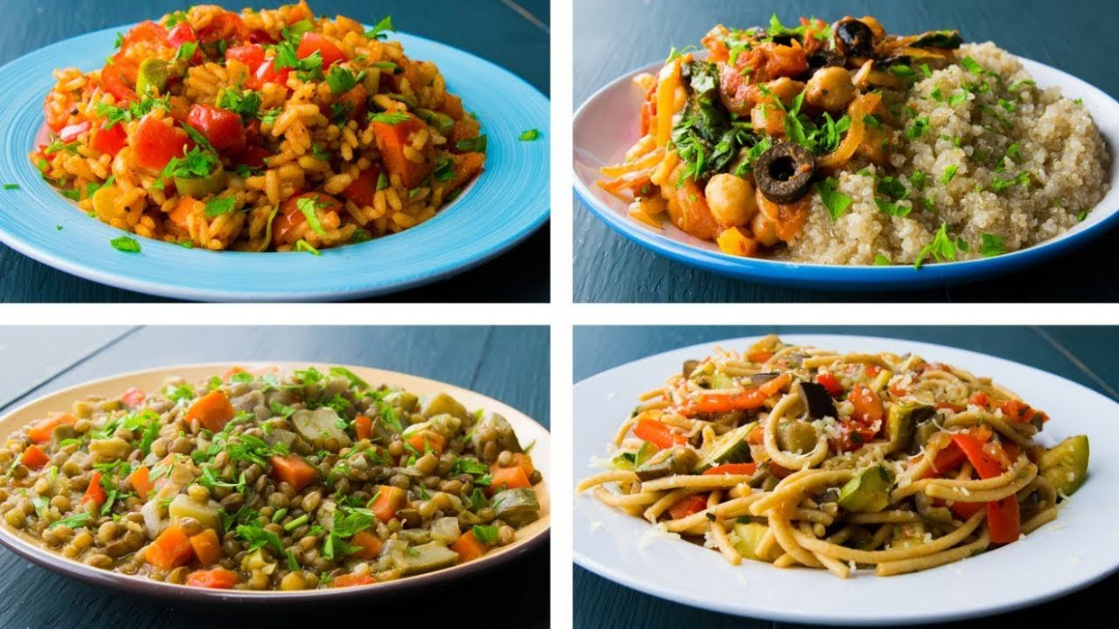 12 Healthy Vegan Recipes For Weight Loss - Recipes For Weight Loss Vegetarian