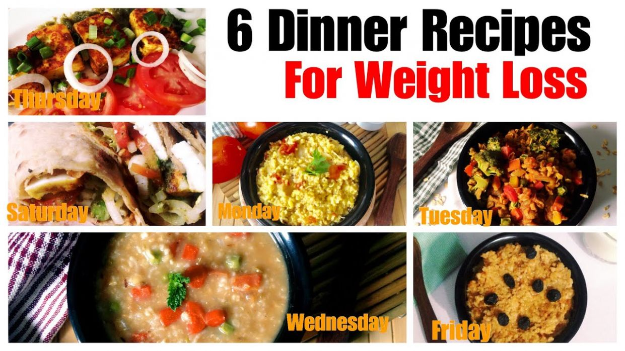 12 Healthy Vegetarian Dinner Recipes for Weight Loss | Indian Dinner With  Barley, Oats Daliya - Weight Loss Lunch Recipes Vegetarian