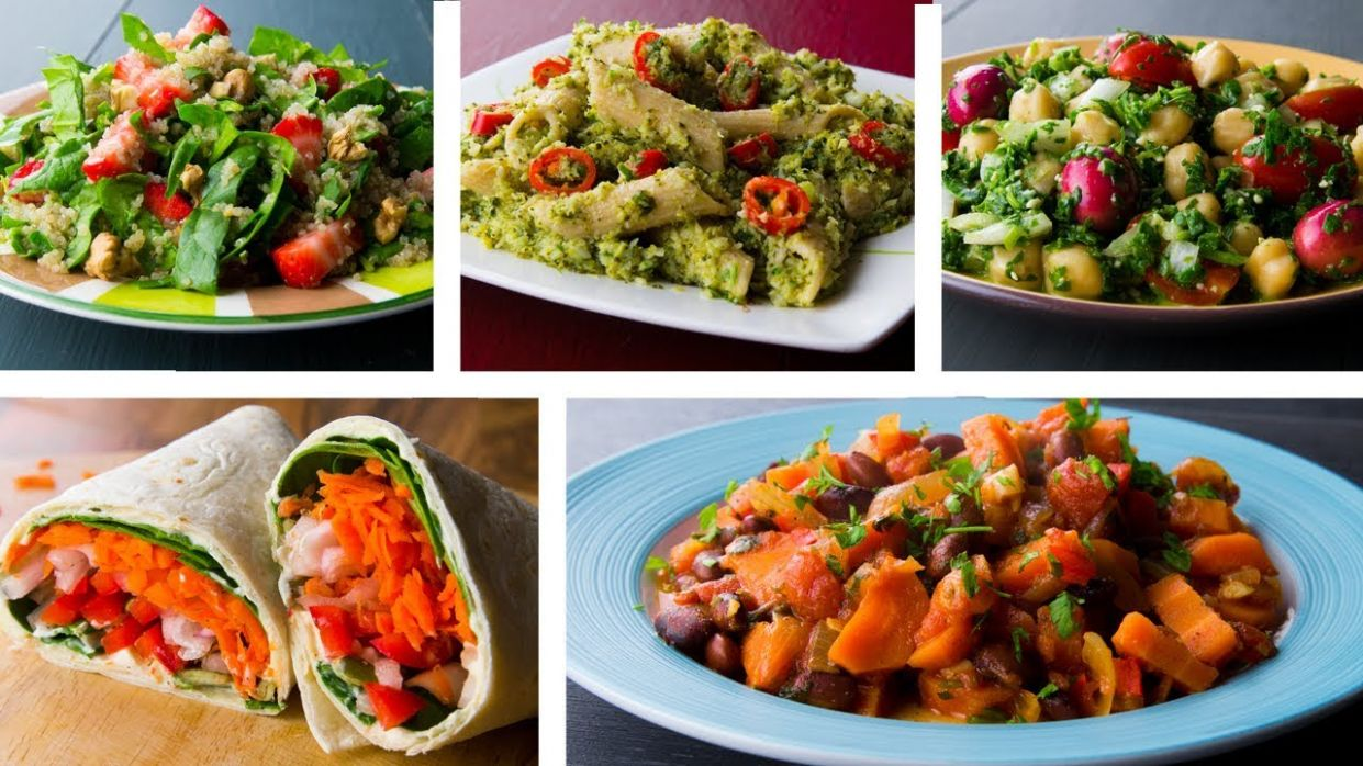 12 Healthy Vegetarian Recipes For Weight Loss - Weight Loss Lunch Recipes Vegetarian