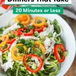 12 High Protein Dinners You Can Make In 12 Minutes Or Less | SELF – Dinner Recipes High In Fiber