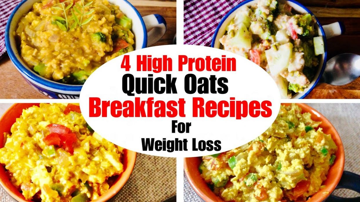 12 High Protein Quick Oats Breakfast Recipes | How to make Oats For Weight  Loss | In Hindi - Oats Recipes For Weight Loss In Hindi