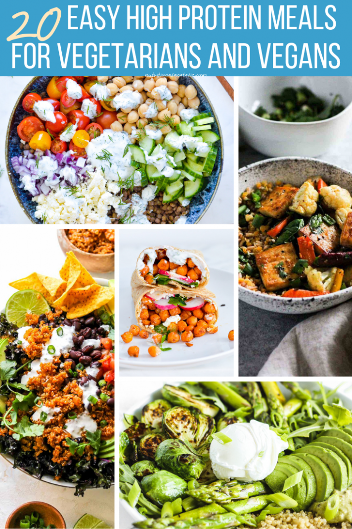 12 High Protein RD-Approved Vegetarian Recipes To Keep You Full - Vegetarian Recipes Rich In Protein