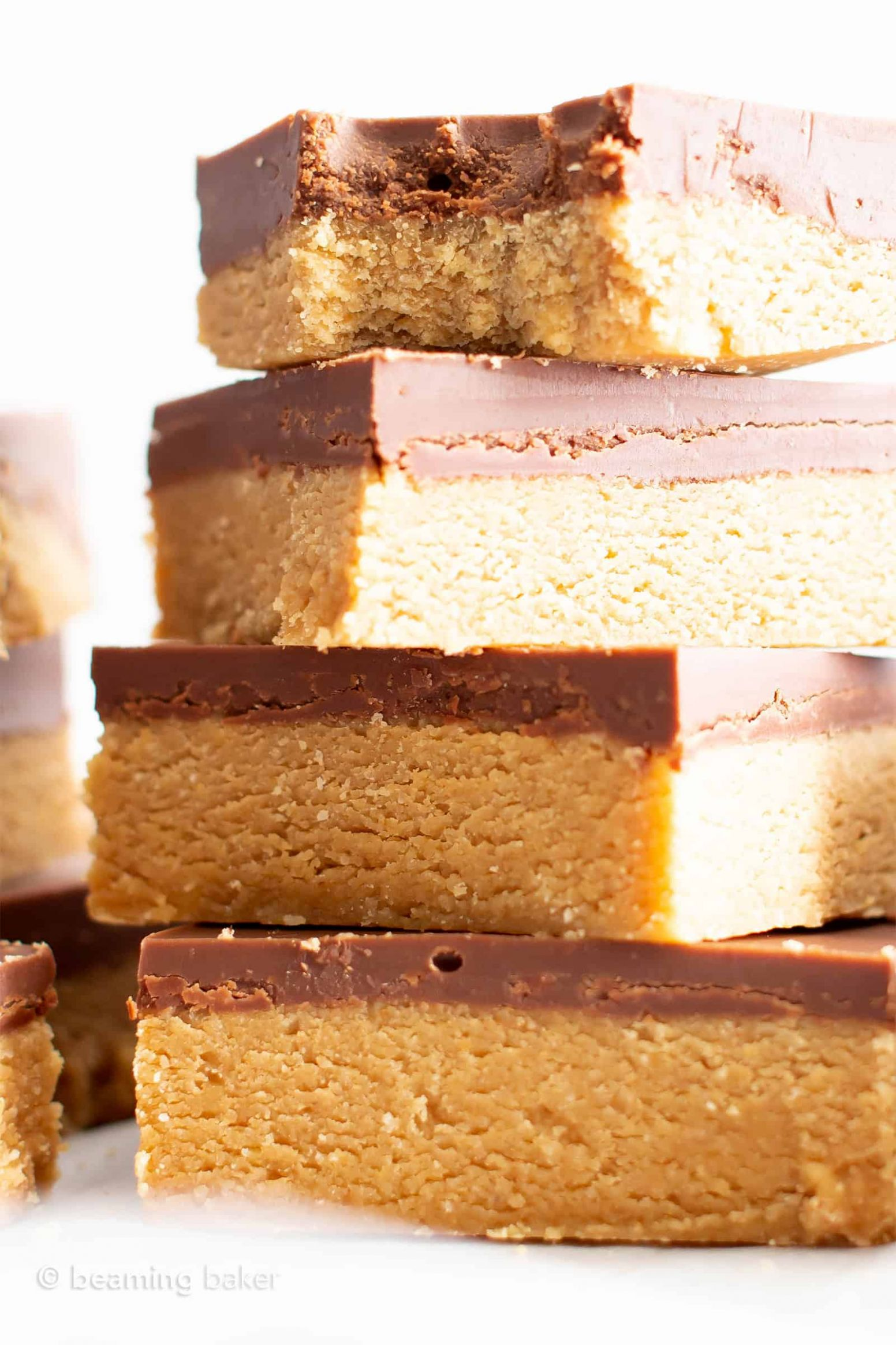 12 Ingredient Easy Vegan Chocolate Peanut Butter Bars (Gluten Free, Healthy,  Dairy-Free)