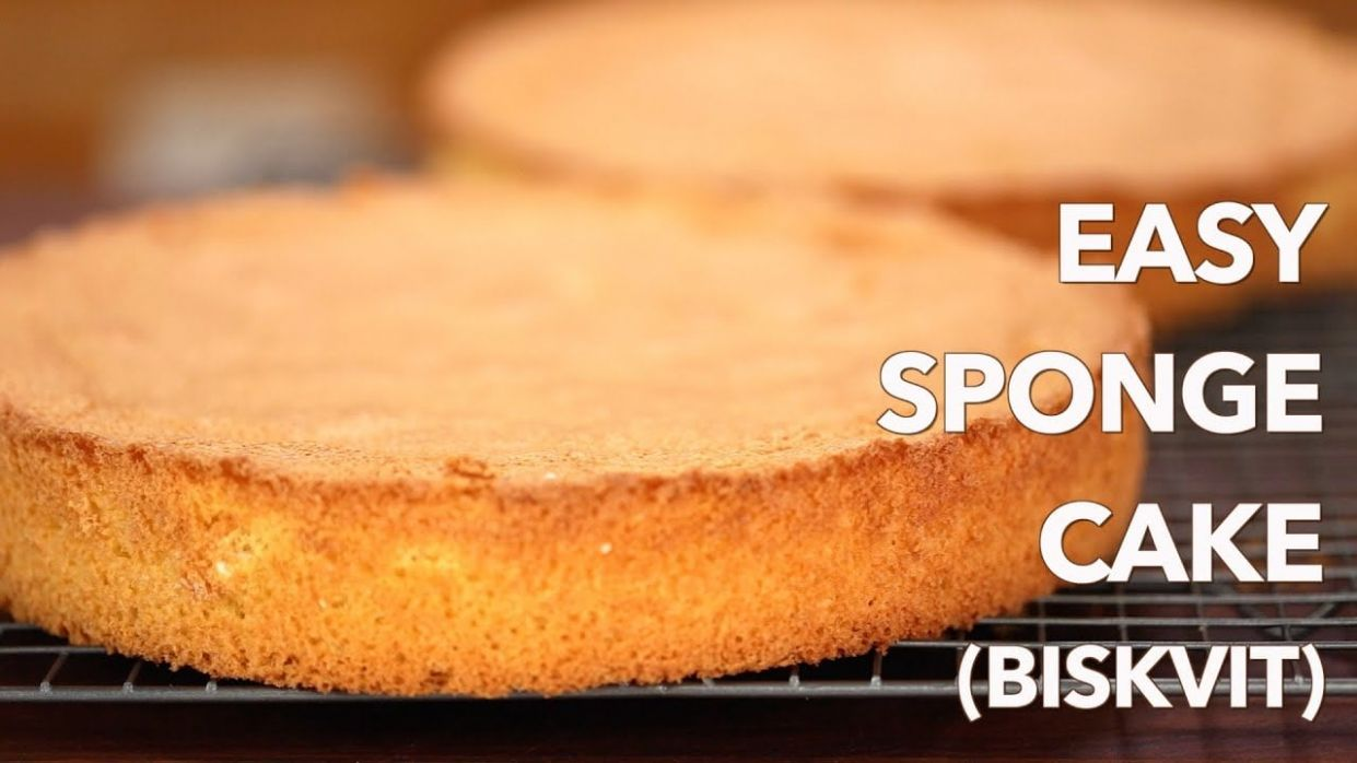 12-Ingredient Sponge Cake (Video Recipe) - Simple Recipes Cake