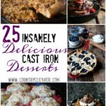 12 Insanely Delicious Cast Iron Desserts – Country Cleaver – Dessert Recipes Delicious