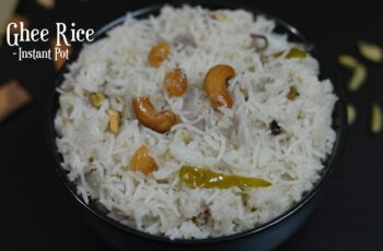 12 Instant Pot Indian Rice Recipes - Indian Veggie Delight