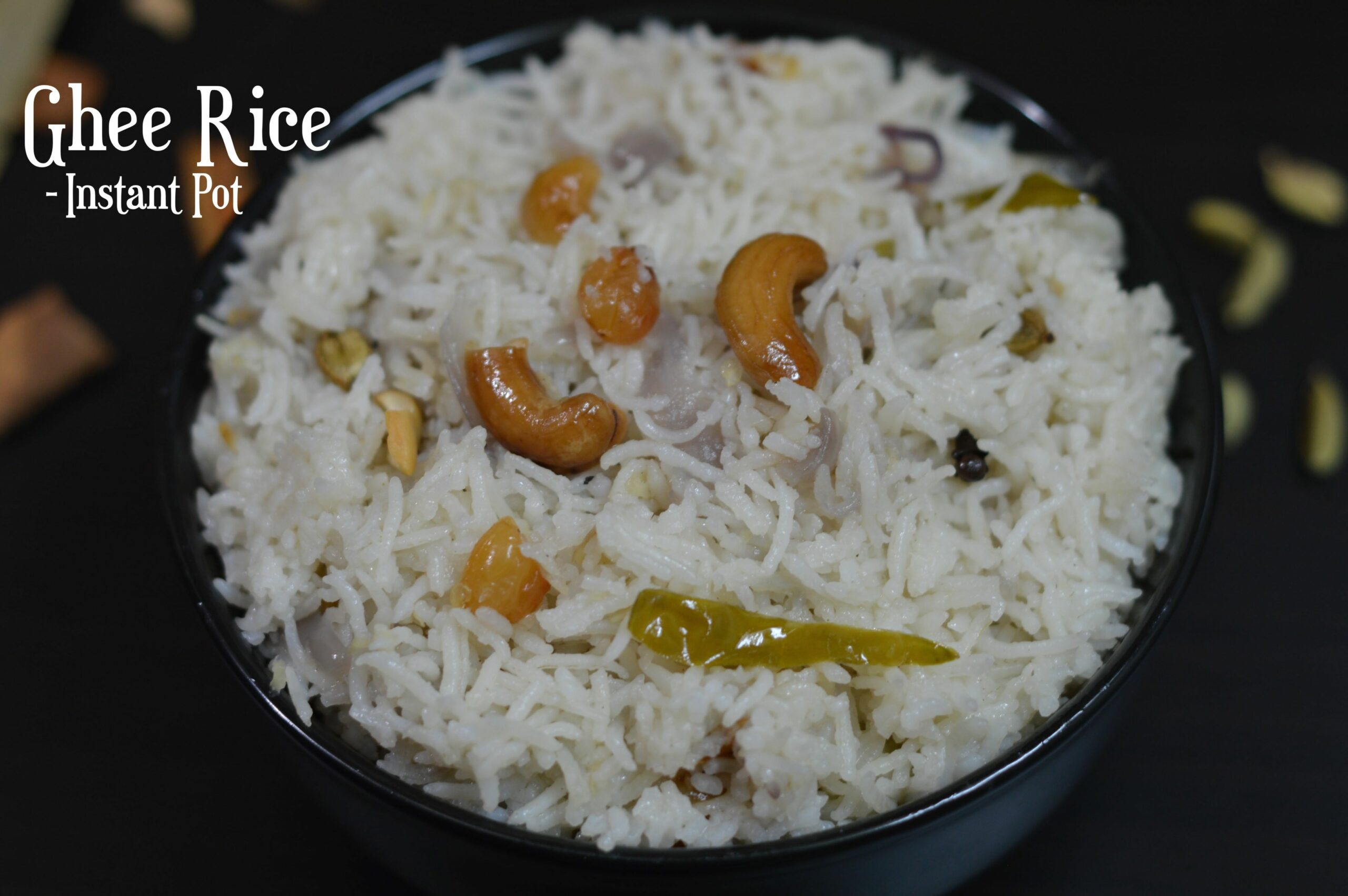 12 Instant Pot Indian Rice Recipes - Indian Veggie Delight - Variety Rice Recipes Yummy Tummy