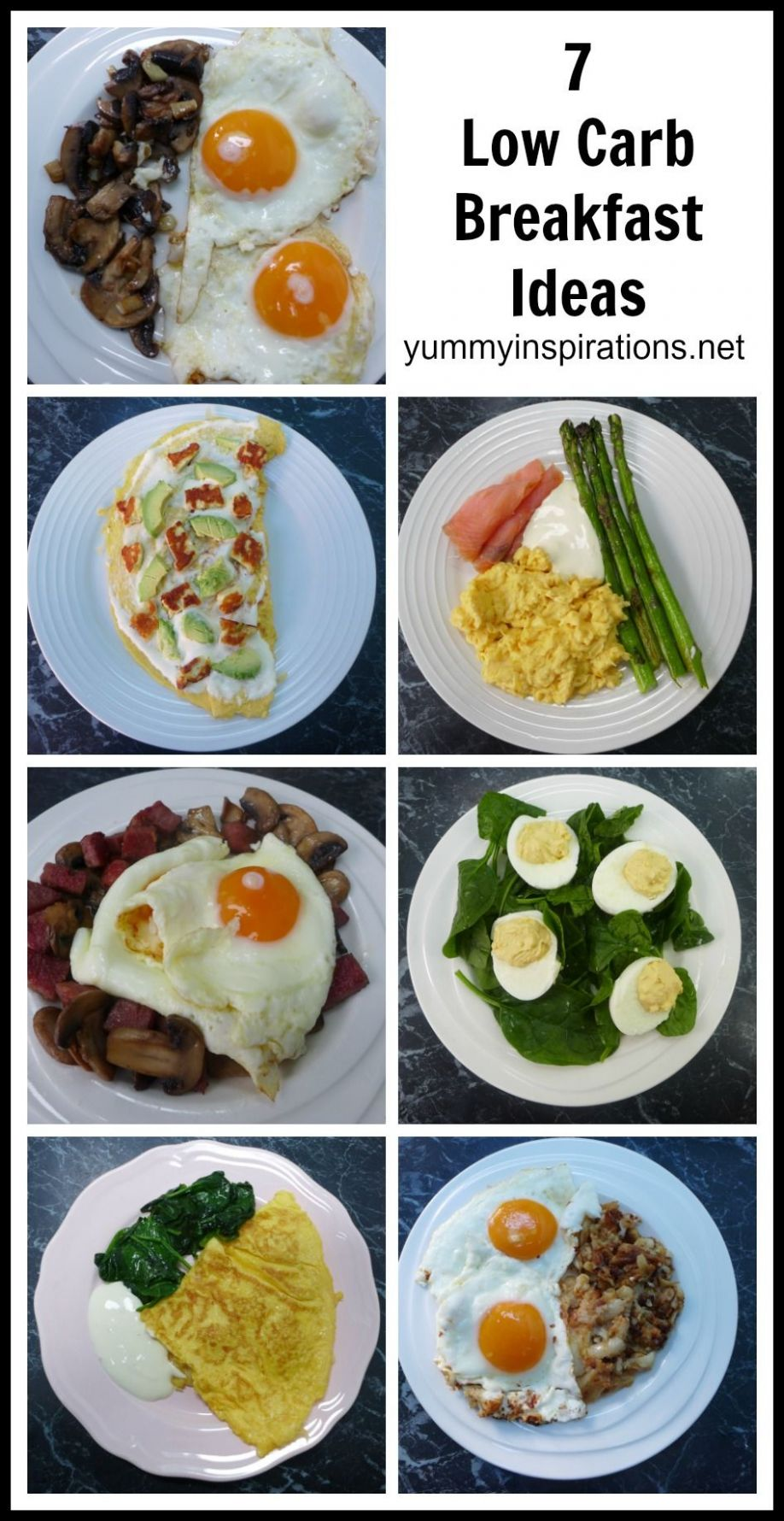 12 Low Carb Breakfast Ideas - A week of Keto Breakfast Recipes ..