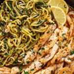 12 Minute Cowboy Butter Chicken With Zucchini Noodles – Recipe Chicken Zucchini Pasta