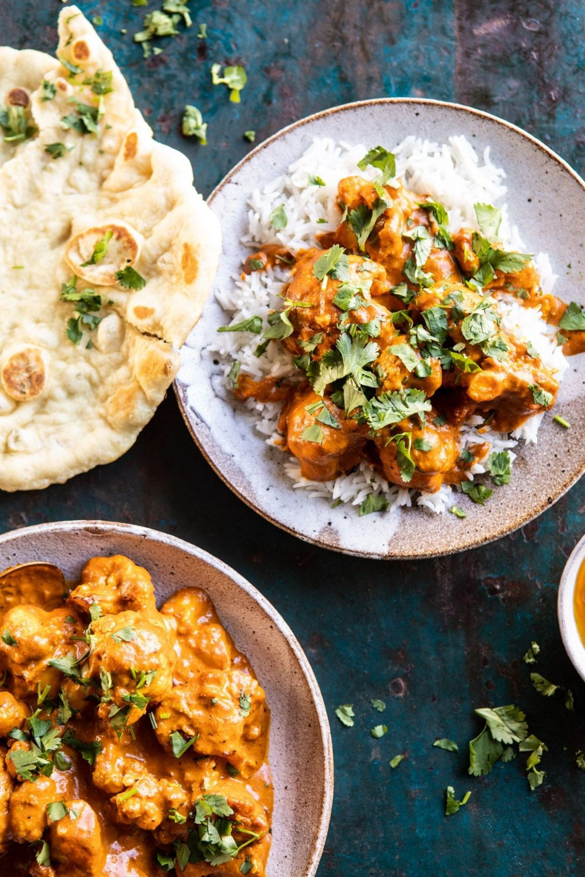 12 Minute Indian Coconut Butter Cauliflower - Healthy Recipes Indian Veg
