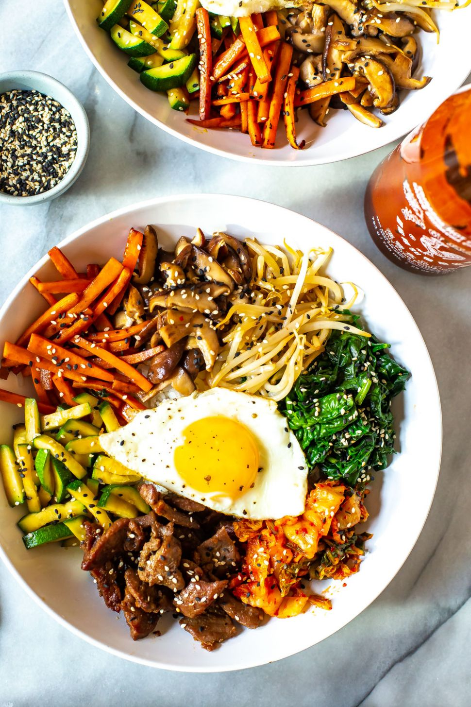 12 Minute Korean Bibimbap Recipe | The Girl on Bloor - Healthy Recipes Korean