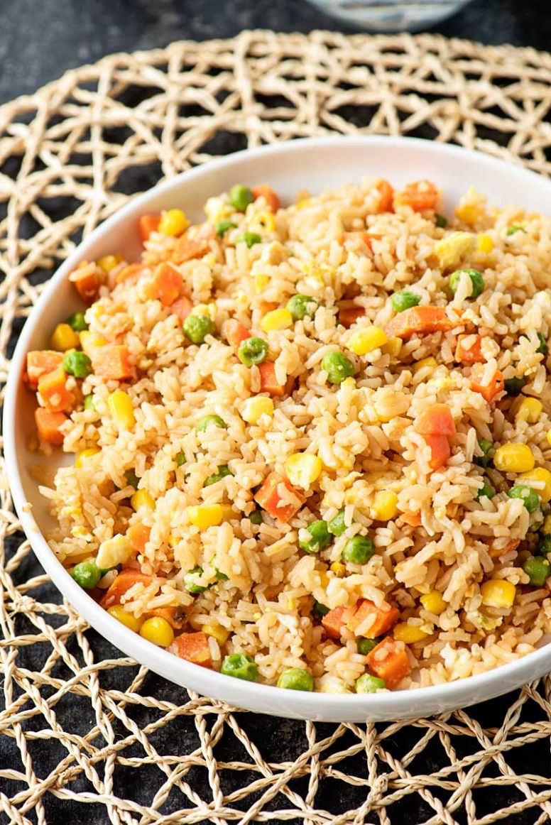 12 Minute Simple Egg Fried Rice - Recipes Egg Rice