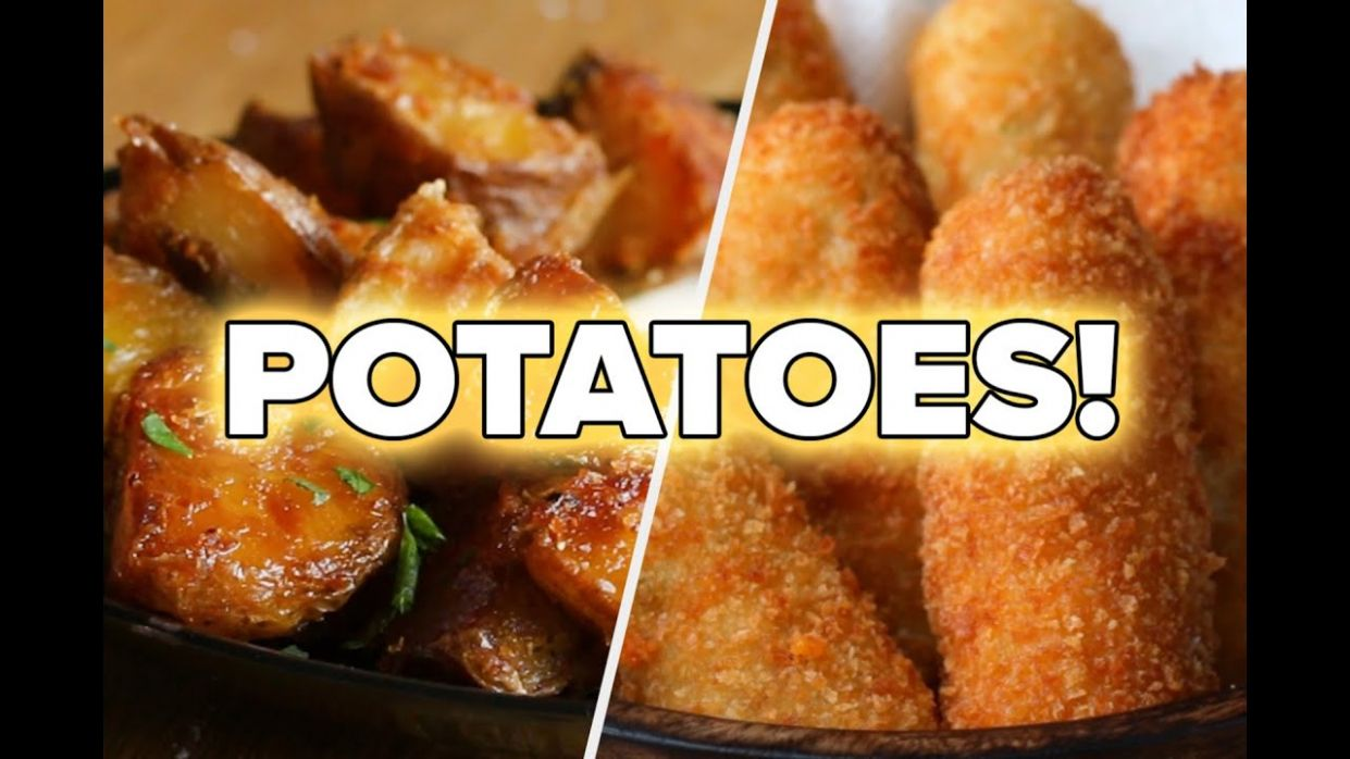 12 Mouthwatering Recipes For Potato Lovers • Tasty - Recipes With Potato