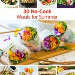 12 No Cook Meals For Summer | Cold Meals, Easy Summer Meals, No ..