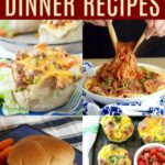 12+ Of The Best Quick And Easy Dinner Ideas – Cupcakes & Kale Chips – Food Recipes Quick
