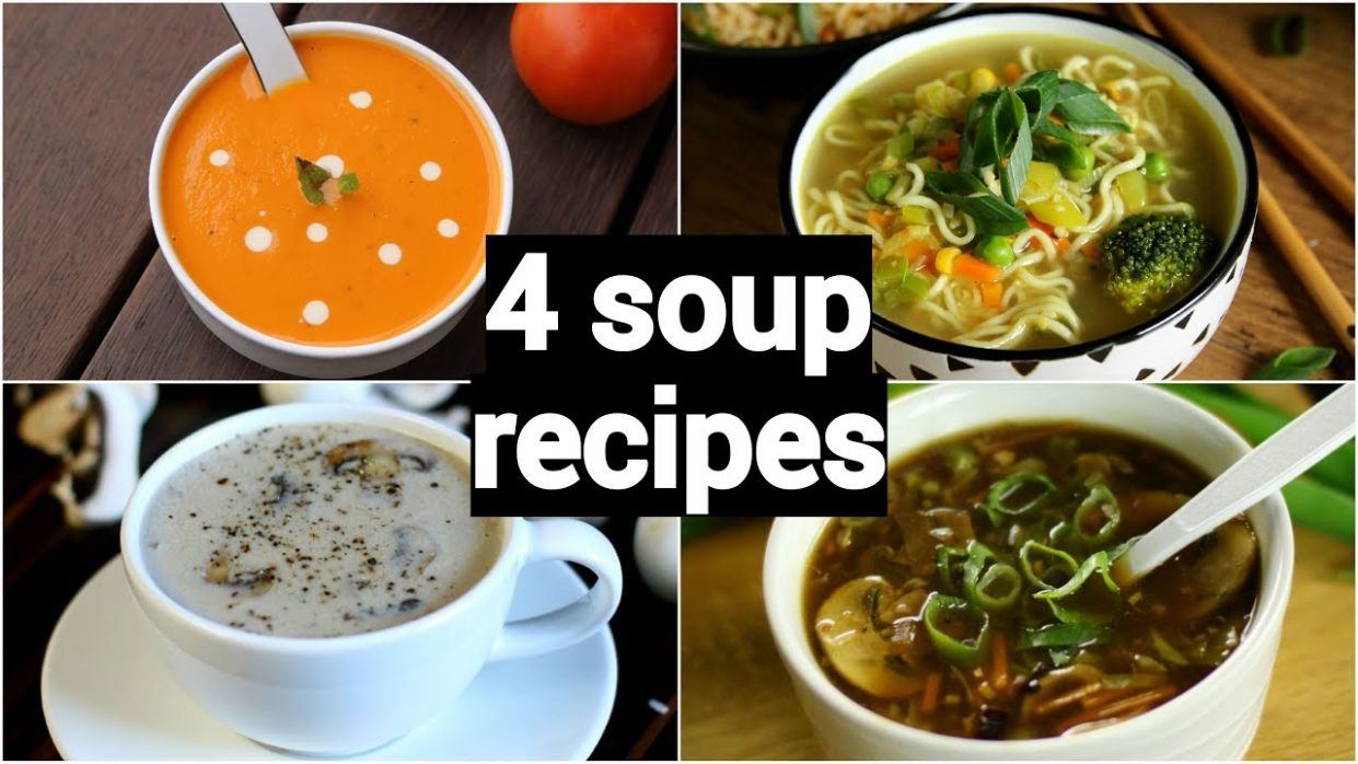 12 quick & easy soup recipes | classic healthy weight loss indian soup  recipes - Soup Recipes Youtube Video