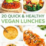 12 Quick And Healthy Vegan Lunches | Easy Vegan Lunch, Vegan ..