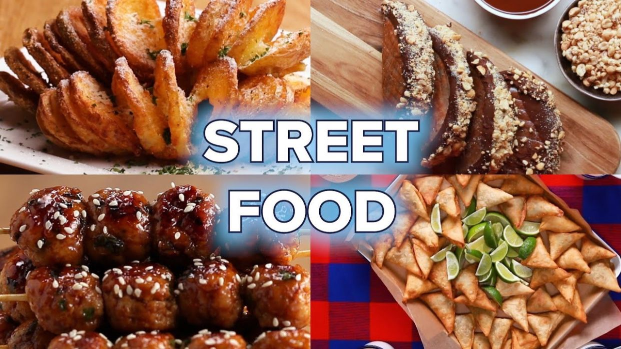 12 Street Food Recipes You Can Make At Home • Tasty