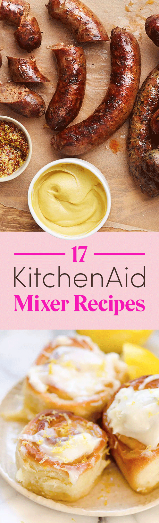 12 Things You Can Make In A KitchenAid Mixer - Dessert Recipes Kitchenaid Mixer