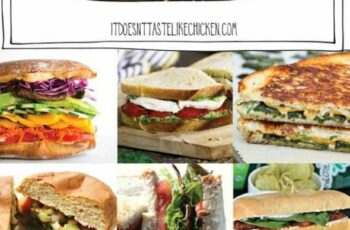 12 Vegan Sandwich Recipes • It Doesn't Taste Like Chicken