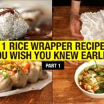 122 Recipes That Use Rice Paper Way Beyond Spring Rolls (part 12) – Recipes Using Rice Paper