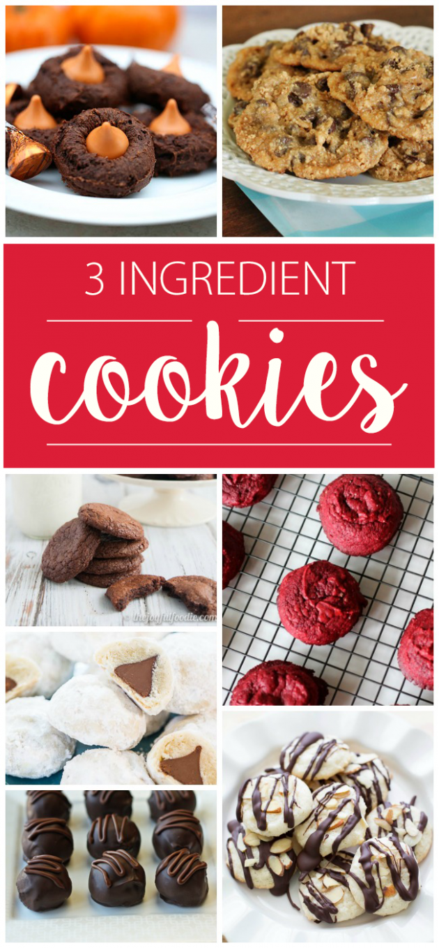 8+ 8 Ingredient Cookie Recipes So Easy You Can Bake Right Now - Simple Recipes Little Ingredients