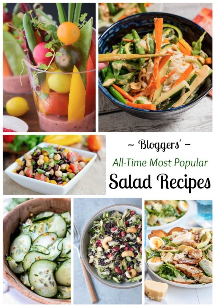 8 All-Time Best Healthy Salad Recipes - Two Healthy Kitchens