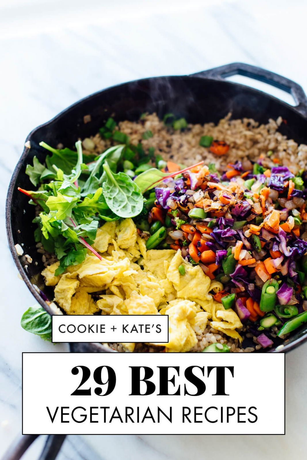 8 Best Vegetarian Recipes - Cookie and Kate - Vegetable Recipes List