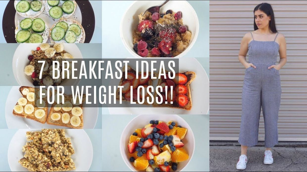 8 BREAKFAST IDEAS THAT HELPED ME LOSE 8KGS | QUICK, EASY & HEALTHY  BREAKFAST FOR THE ENTIRE WEEK! - Breakfast Recipes To Lose Weight