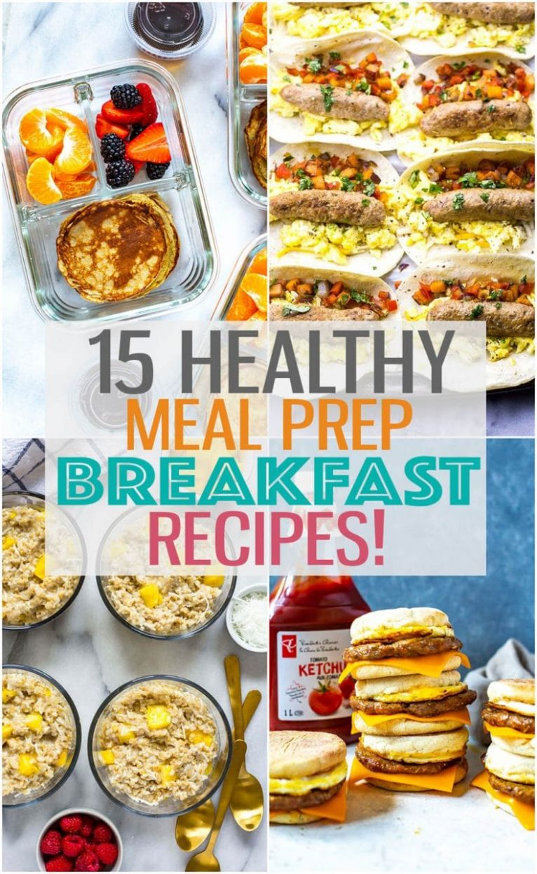 8 Breakfast Meal Prep Ideas for Busy Mornings! - The Girl on Bloor - Breakfast Recipes On The Go