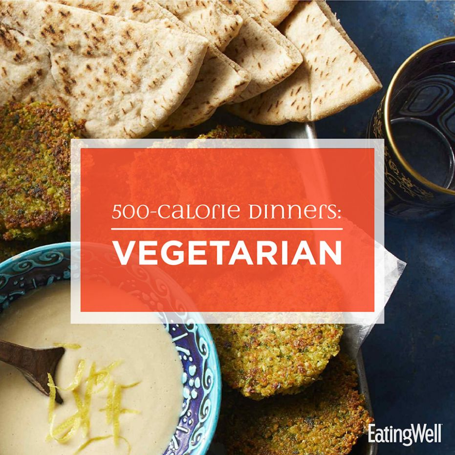 8-Calorie Dinners: Vegetarian | EatingWell - Vegetarian Recipes Under 500 Calories
