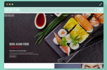 8 Creative Food Blog Website Template & WordPress Themes For 8