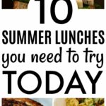 8 Delicious Summer Lunch Ideas – Summer Meals You Need To Make! – Recipes For Quick Summer Meals
