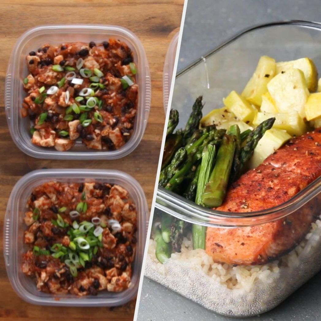 8 Easy & Healthy Meal Prep Recipes - Dinner Recipes Meal Prep