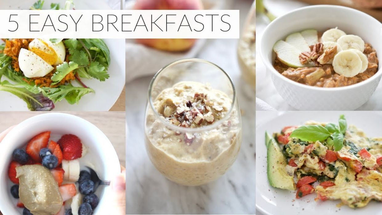 8 EASY BREAKFAST RECIPES | healthy paleo + dairy-free breakfast ideas
