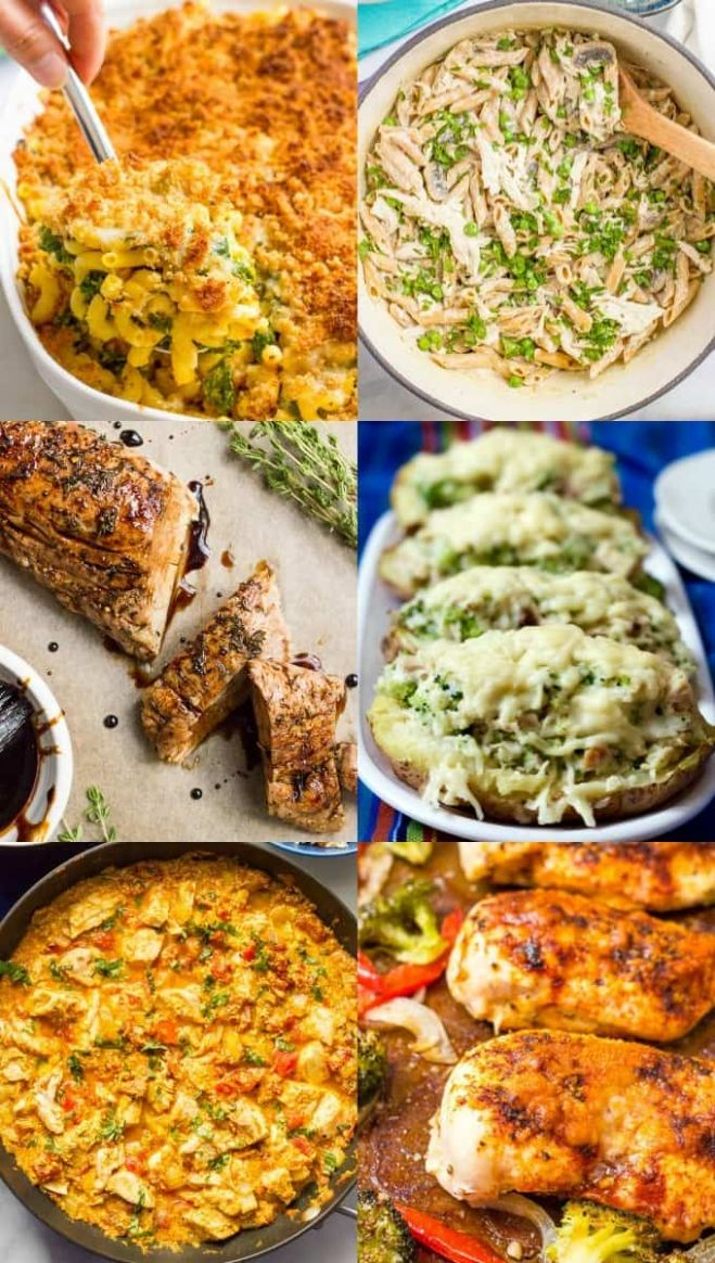 8 easy healthy family dinner ideas - Family Food on the Table - Recipes Dinner Family
