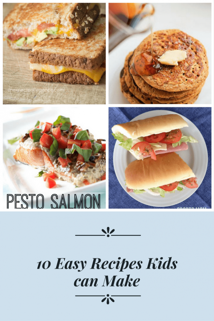 8 Easy Recipes a Kid Can Make - Easy Recipes Kids Can Make