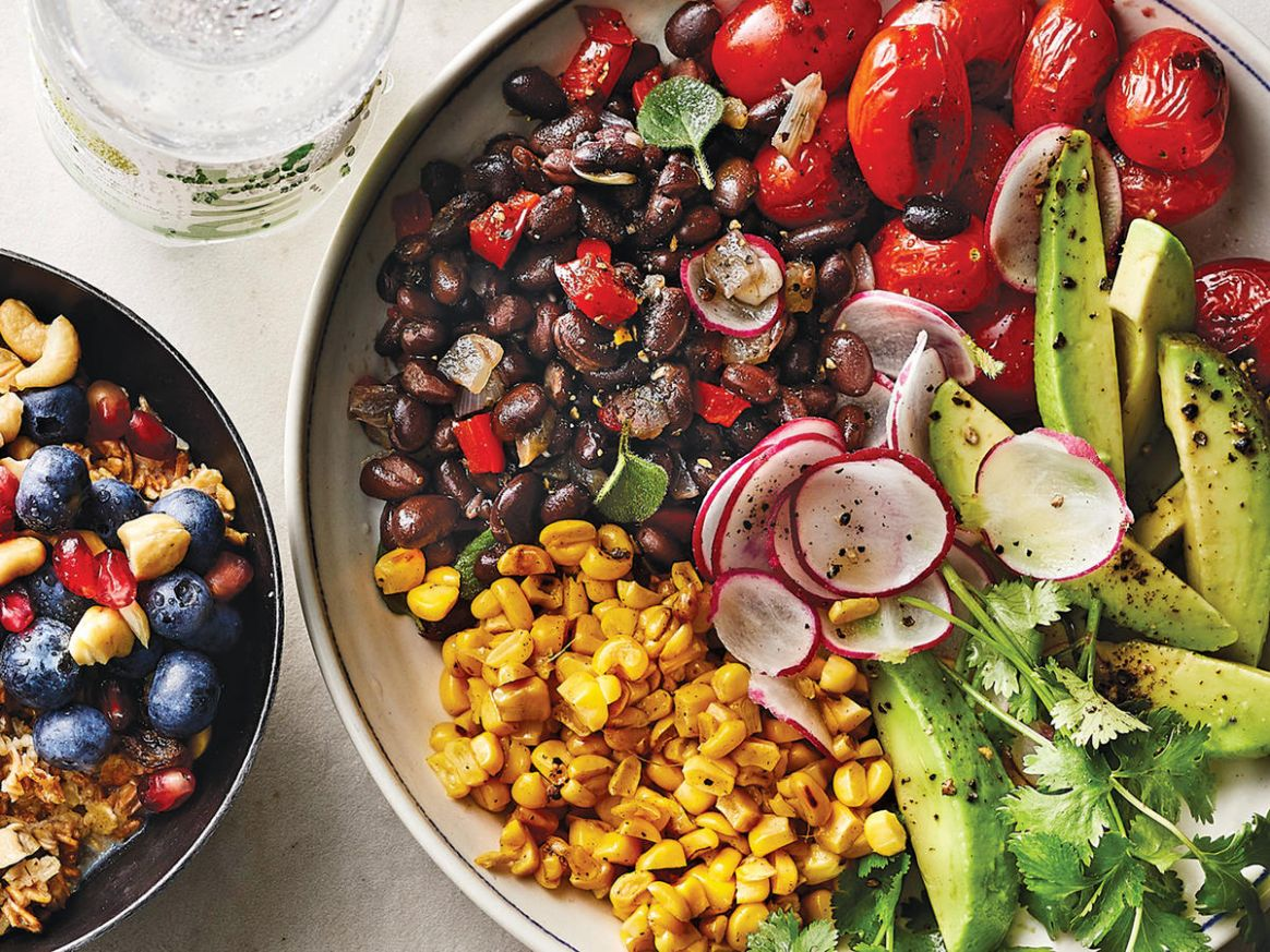 8 Easy Vegetarian Recipes | Cooking Light - Vegetarian Recipes Quick And Easy