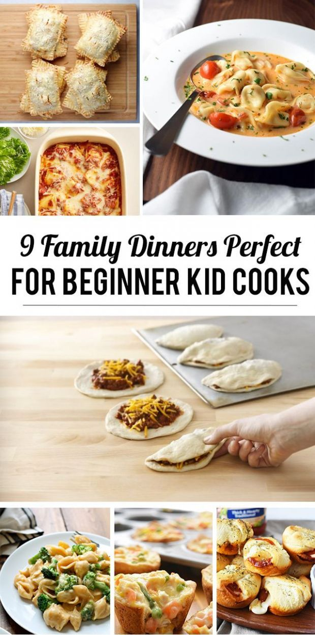 8 Family Dinners Perfect for Beginning Kid Cooks | Kids cooking ..