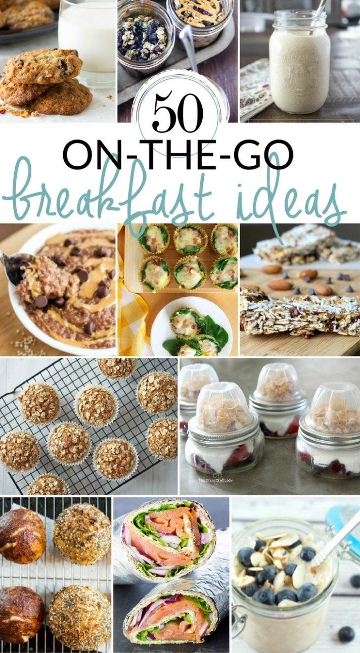 8 Grab-and-Go Breakfast Options for Busy Mornings - The Crazy ..